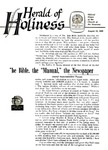 Herald of Holiness Volume 47 Number 24 (1958)