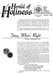 Herald of Holiness Volume 47 Number 27 (1958)