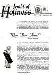Herald of Holiness Volume 47 Number 30 (1958)