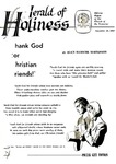 Herald of Holiness Volume 47 Number 38 (1958)