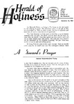 Herald of Holiness Volume 47 Number 43 (1958)