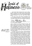 Herald of Holiness Volume 47 Number 07 (1958)