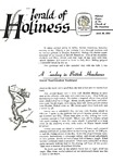 Herald of Holiness Volume 47 Number 09 (1958)