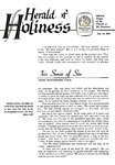 Herald of Holiness Volume 47 Number 11 (1958)
