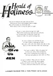 Herald of Holiness Volume 47 Number 14 (1958)