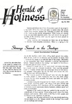 Herald of Holiness Volume 47 Number 20 (1958)