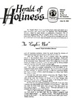 Herald of Holiness Volume 47 Number 21 (1958)