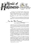 Herald of Holiness Volume 47 Number 31 (1958)