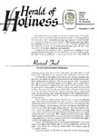 Herald of Holiness Volume 47 Number 36 (1958)