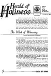 Herald of Holiness Volume 47 Number 40 (1958)