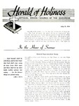 Herald of Holiness Volume 45 Number 19 (1956)