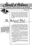 Herald of Holiness Volume 44 Number 50 (1956)