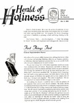 Herald of Holiness Volume 46 Number 45 (1958)