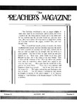 Preachers Magazine Volume 12 Number 08