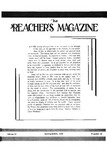 Preachers Magazine Volume 12 Number 11
