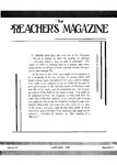 Preachers Magazine Volume 13 Number 01