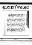 Preachers Magazine Volume 13 Number 05