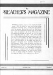 Preachers Magazine Volume 14 Number 08