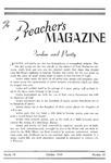 Preachers Magazine Volume 16 Number 10