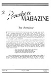 Preacher's Magazine Volume 17 Number 01