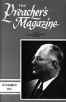 Preacher's Magazine Volume 36 Number 11
