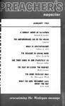 Preacher's Magazine Volume 37 Number 01
