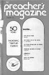 Preacher's Magazine Volume 51 Number 01