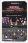 Department of Music Programs 2009 - 2010