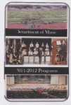 Department of Music Programs 2011 - 2012 by Department of Music